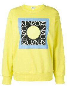 Kenzo logo print sweatshirt - Yellow