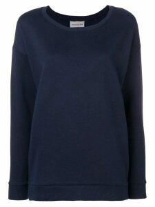 Roqa side zip sweatshirt - Blue