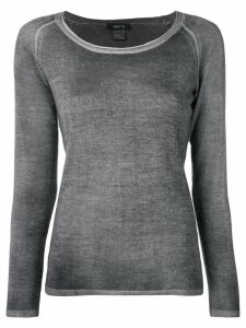 Avant Toi slim-fit sweatshirt - Grey