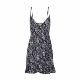 Free People All My Love Floral-print Mini Dress