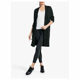 hush Jersey Jacket, Black
