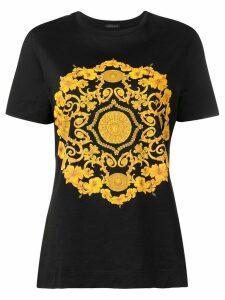 Versace baroque print T-shirt - Black