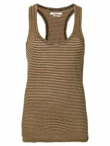 Isabel Marant Étoile fitted U-neck top - Yellow
