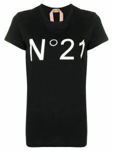 Nº21 logo T-shirt - Black