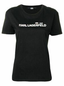 Karl Lagerfeld Ikonik & logo T-shirt - Black