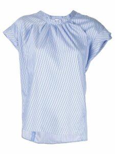 3.1 Phillip Lim striped round neck T-shirt - Blue