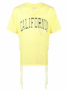 Faith Connexion short sleeved T-shirt - Yellow