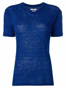 Isabel Marant Étoile striped T-shirt - Blue