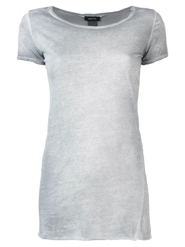 Avant Toi basic T-shirt - Grey