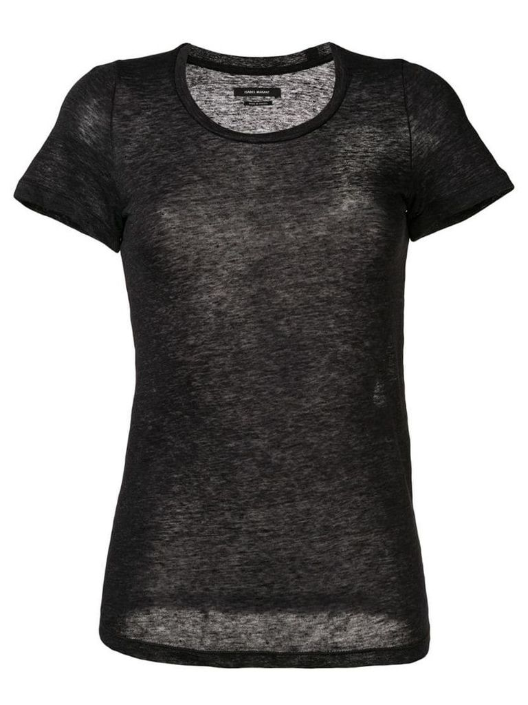 Isabel Marant Vika T-shirt top - Grey