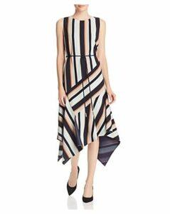 Lafayette 148 New York Marnie Sleeveless Striped Dress