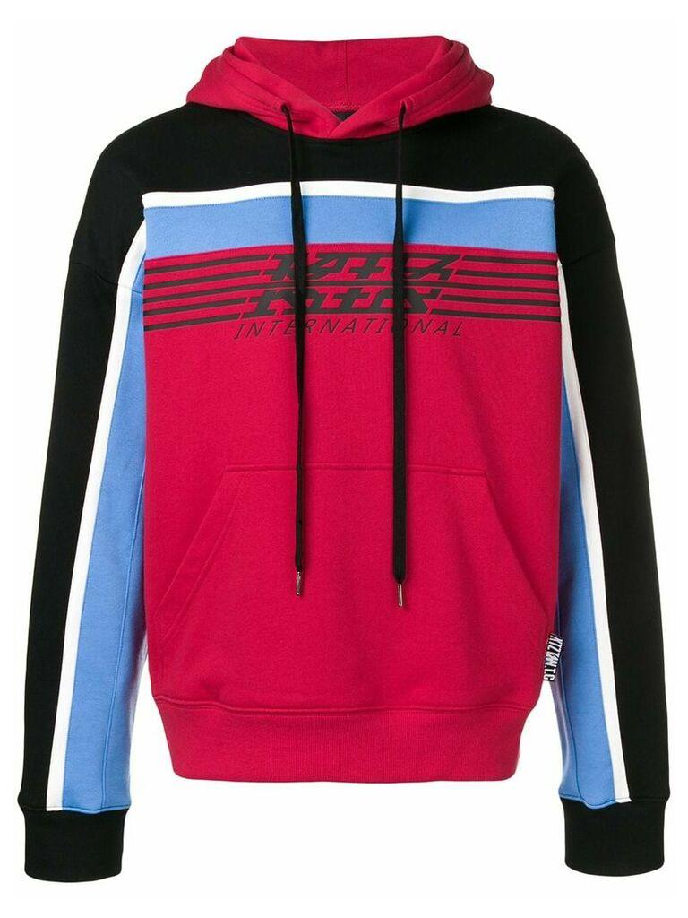 KTZ international logo hoodie - Red