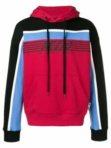 KTZ international logo hoodie - Red