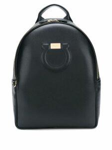 Salvatore Ferragamo Gancini backpack - Black