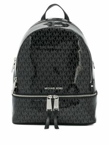 Michael Michael Kors monogram backpack - Black