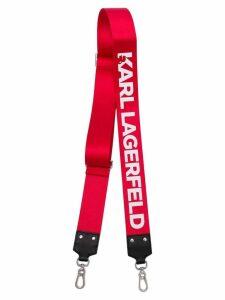 Karl Lagerfeld K/Straps wide bag strap - Red