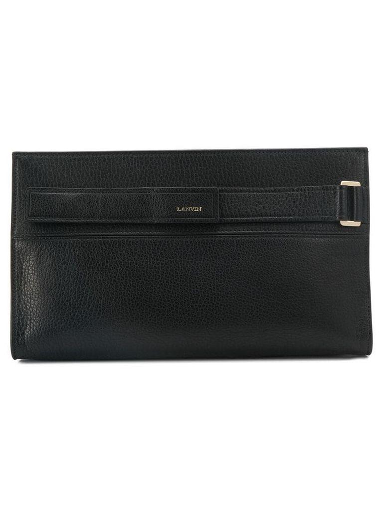 Lanvin Réglisse clutch bag - Black