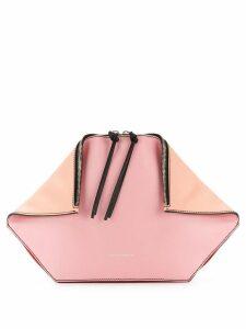 Alexander McQueen double zip clutch - Pink