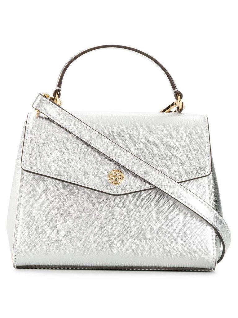 Tory Burch Robinson mini bag - Silver