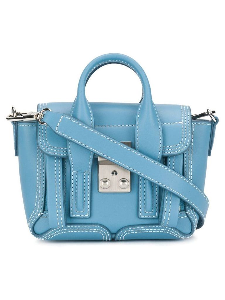 3.1 Phillip Lim Pashli Nano crossbody bag - Blue