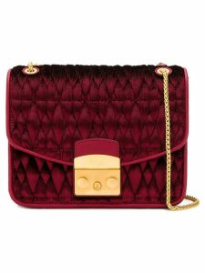 Furla Metropolis quilted shoulder bag - Red