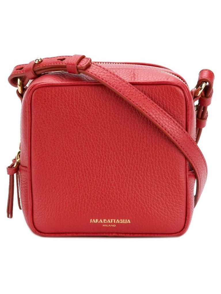 Sara Battaglia cube bag - Red
