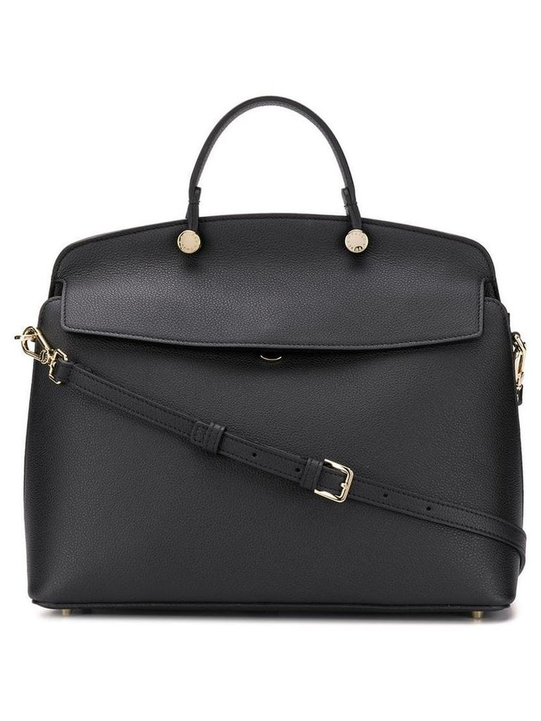 Furla My Piper tote bag - Black