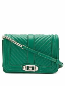 Rebecca Minkoff quilted crossbody bag - Green