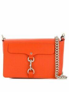 Rebecca Minkoff chain-strap crossbody bag - Orange