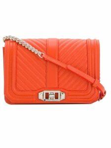 Rebecca Minkoff quilted crossbody bag - Orange