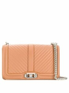 Rebecca Minkoff quilted crossbody bag - Brown