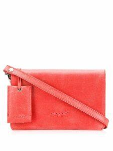 Marsèll Millesoffio cross body bag - Red