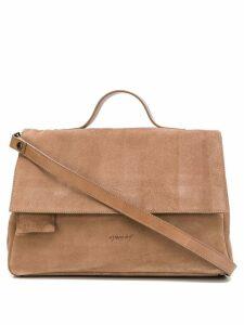 Marsèll distressed logo cross body bag - Brown