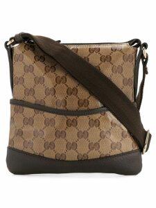 Gucci Pre-Owned GG pattern shoulder bag - Brown