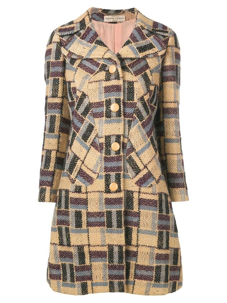 Pierre Cardin Vintage 1960's knitted coat - Neutrals