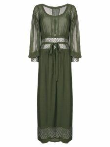 A.N.G.E.L.O. Vintage Cult 1970's maxi dress - Green
