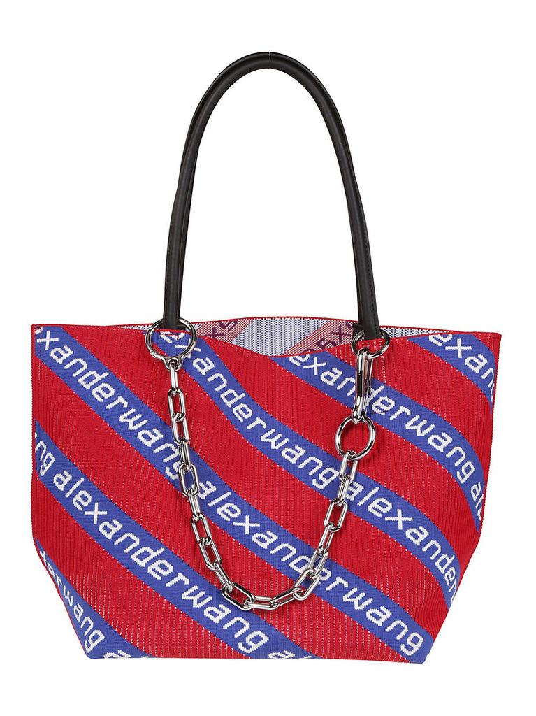 Alexander Wang Logo Knit Shoulder Bag