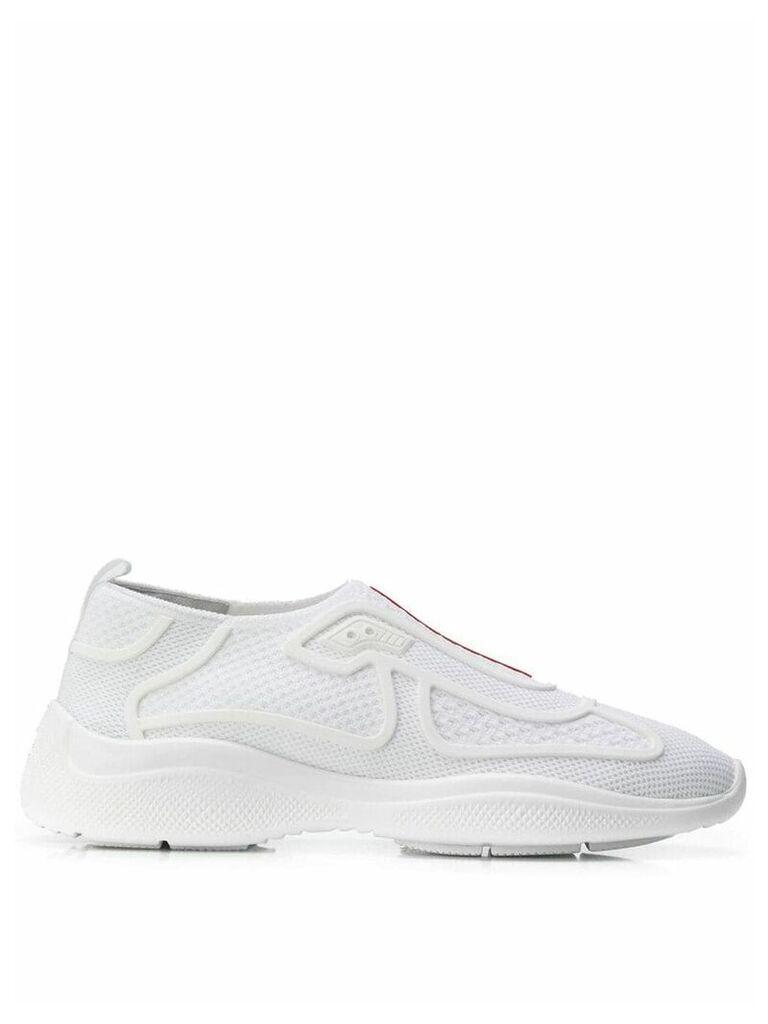 Prada Vela tech sneakers - White