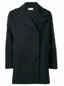 Red Valentino double breasted midi coat - Blue