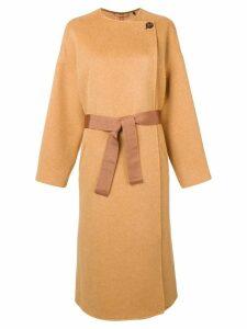 Isabel Marant belted waist coat - Yellow