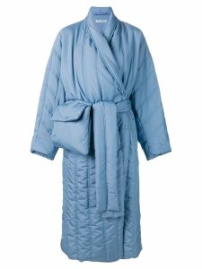 Henrik Vibskov Pipe padded coat - Blue