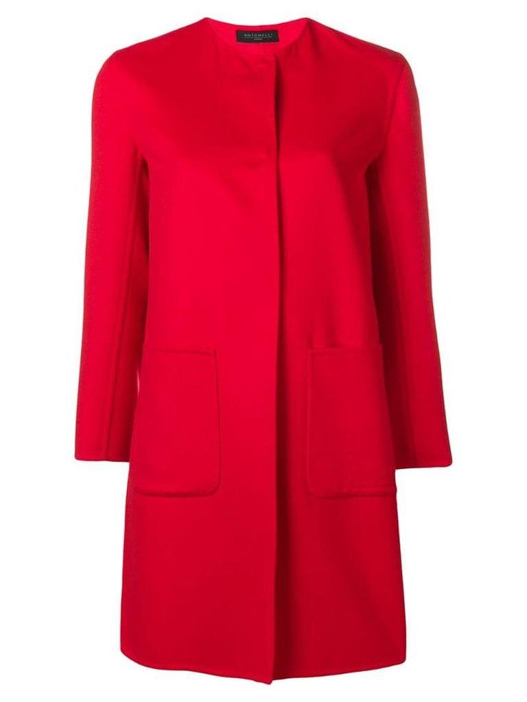 Antonelli Dallas coat - Red