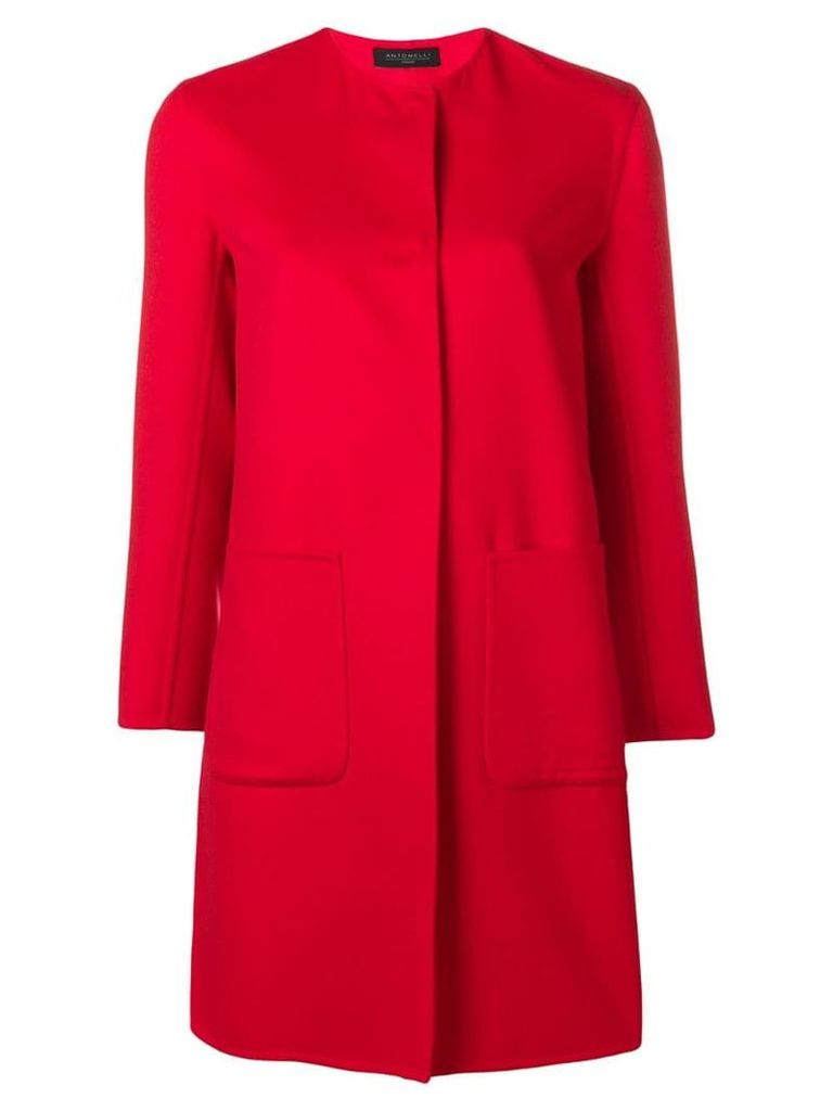 Antonelli Dallas coat - Red