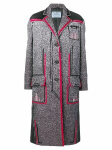 Prada mid-length coat - Grey