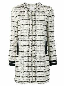 Pinko tweed coat - White
