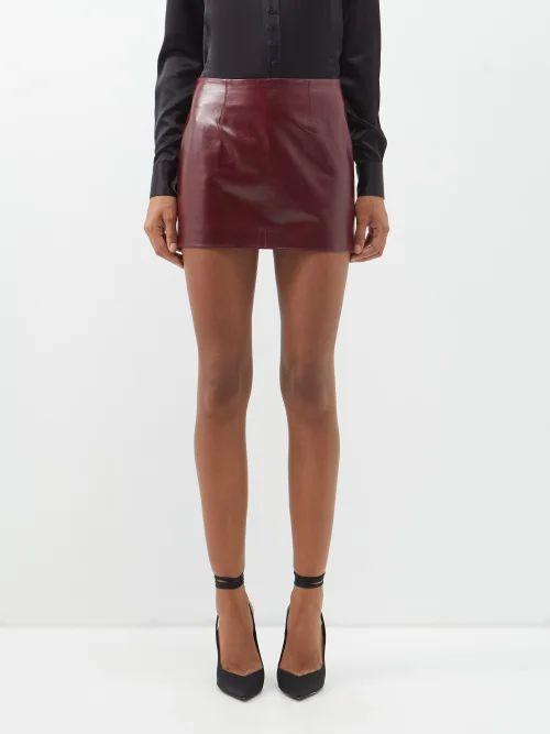 Biyan - Song Botanical Print Silk Organza Blouse - Womens - Black Multi