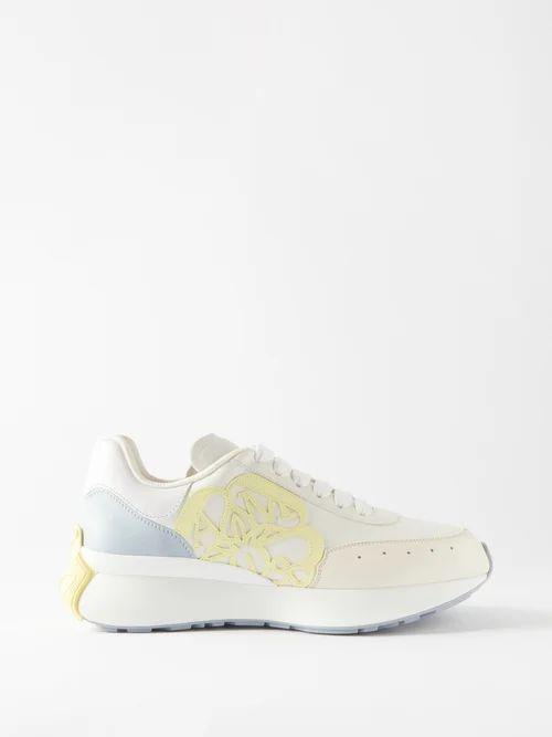 La Prestic Ouiston - Peace Mixed Print Silk Blouse - Womens - Multi