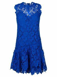 Ermanno Scervino floral lace dress - Blue
