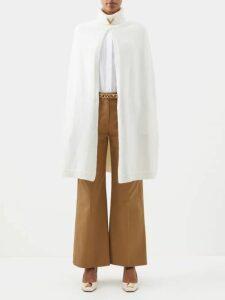 Isa Arfen - Ponza Gingham Organza Blouse - Womens - Brown Multi