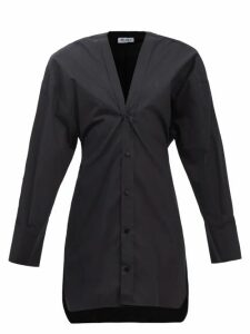 La Prestic Ouiston - Sagan Pleated Silk Satin Skirt - Womens - Red Multi